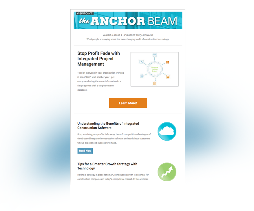 The Anchor Beam newsletter