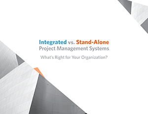 Integrated vs. Stand-Alone Project Management Systems